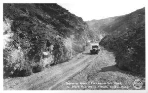 Eichbaum toll road - B-W photo 1927 - Burton Frasher