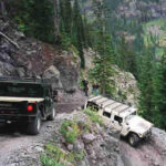 Hummer in Black Bear Pass - Golden Block Brewery