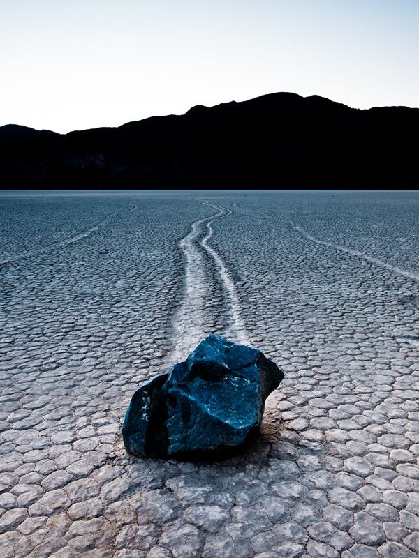 The Racetrack - Mysterious Moving Rocks - Black Rhino Expeditions