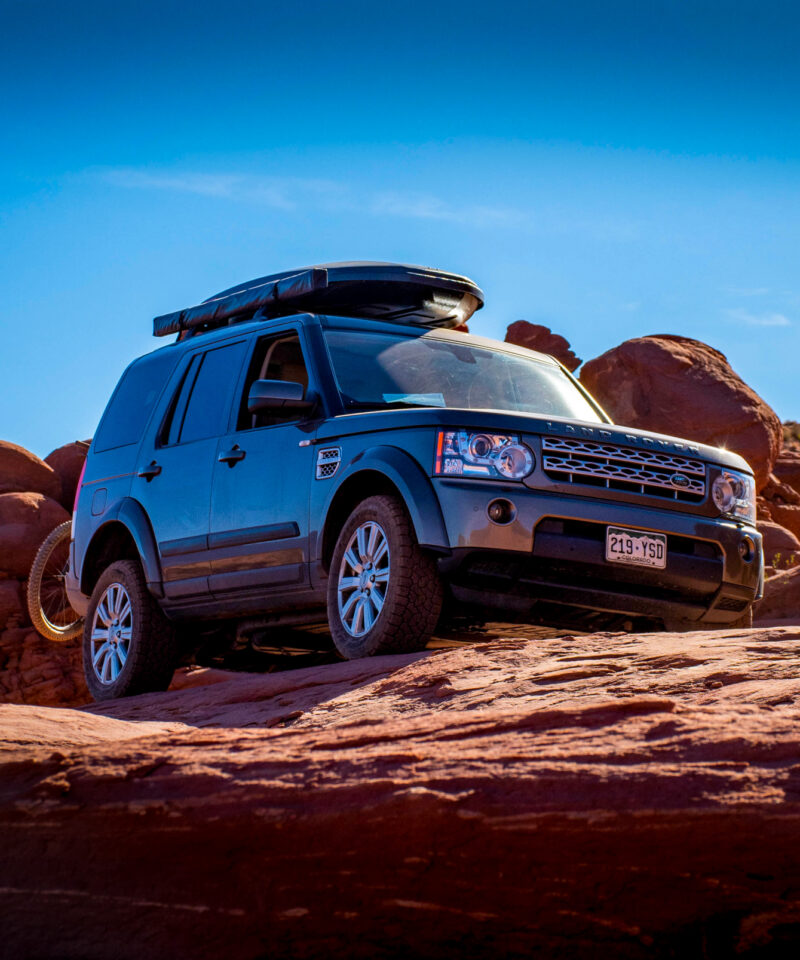 Land Rover - Moab Off Roading - Black Rhino Expeditions