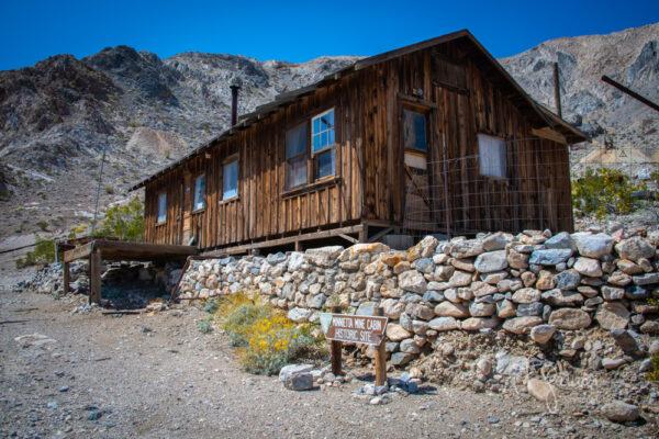 Minnieta Cabin - Black Rhino Expeditions - Panamint Valley Tour