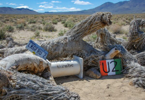 U2 Shrine - Death Valley Off Road Tours - Black Rhino Expeditions